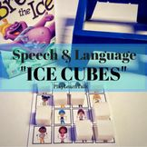 Speech & Language Ice cubes This is probably my favorite new resource of the summer. I use it daily. It allows me to target both language (pronouns, possessives, MLU) and artic (k/g), with and requires no prep other than printing and laminating! Speech Language Pathology, Speech And Language, Teaching Pronouns, Speech Therapy Activities, Ice Cubes, Winter Theme, Pediatrics, Education, Therapy Ideas