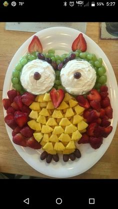 Owl Fruit Tray