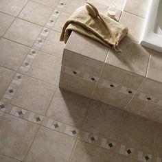 Del Conca Rialto Beige Thru Body Porcelain Indoor Outdoor Floor Tile Common