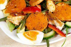 salade met zoete aardappel en sriracha dressing 4