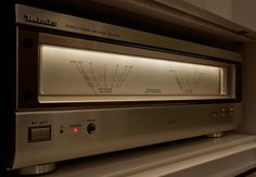 Evening magic - Technics A1010 power amp | Flickr - Photo Sharing!