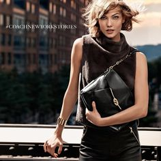 Coach - Coach F/W 13 In this picture:  Karlie Kloss Credits for this picture:  Craig McDean (Photographer)  Karl Templer (Fashion Editor/Stylist)