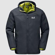 bbcc9206c826b Jack Wolfskin NORTHERN POINT Windproof softshell jacket men – JACK WOLFSKIN