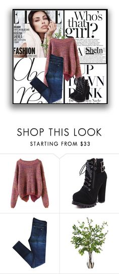 """SHEINSIDE CONTEST"" by almedina-bojic ❤ liked on Polyvore featuring rag & bone and Diane James"