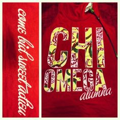 i want this chi o tank NOW, minus the alumna part...