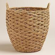 Seagrass Cora Tote Basket