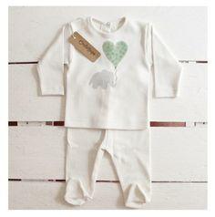 Oncle Hope, ropa para bebé de algodón orgánico y estampados a mano http://www.minimoda.es