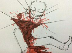 (Me) *shrieks*/// Maree : eh I've seen much worse but are you ok?