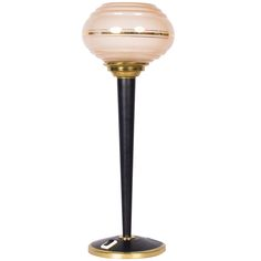 French Art Deco Lamp   From a unique collection of antique and modern table lamps at https://www.1stdibs.com/furniture/lighting/table-lamps/