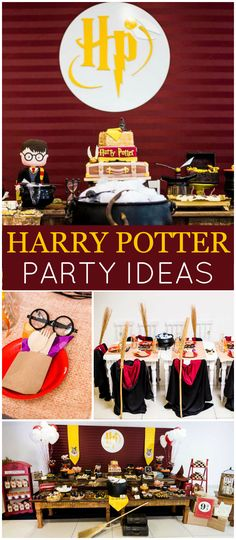 Check out this Harry Potter birthday party with amazing details! See more party ideas at CatchMyParty.com!