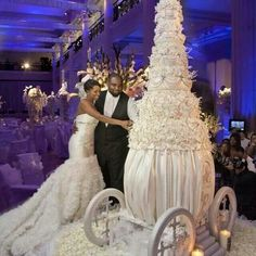 over the top wedding cakes | via christian joy demeritt