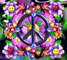 Peace Signs Images & Non Violent Pictures Hippie Peace, Happy Hippie, Hippie Love, Hippie Art, Hippie Style, Hippie Chick, Hippie Things, Hippie Vibes, Peace Sign Images