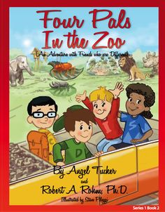 """This is book 2 in Series 1 and highlights Iris, our fun """"I"""" personality type! See how each of the friends enjoys a trip to the zoo together. You'll discover how they each think, feel, and act differently based on their personality type! These books are written for ages 3-9 and can be purchased individually or in a set of 4. www.personalityprofiles.org"""