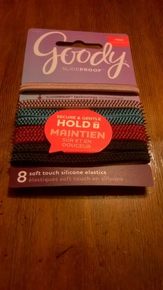 goody slideproof hair ties love these they work great 72ab7a91813