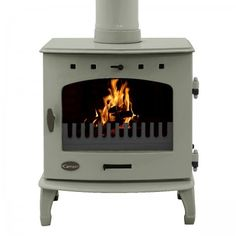 The Carron China Blue Enamel Multi Fuel / Wood Burning Stove has been DEFRA approved, allowing the burning of wood in smoke controlled zones. Its classic timeless design and robust cast iron construction make this stove a feature for any room. Cabana, Nautical Kitchen, Wood Fuel, Multi Fuel Stove, Cast Iron Stove, Cast Iron Radiators, Stove Fireplace, Fireplace Ideas, Into The Woods