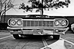 Nothing like a 64 Impala grille. All that chrome!