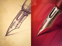 Calligraphy #Illustration Design