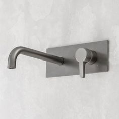 Arq by Rogerseller Wall Mixer & 250mm Outlet Graphite