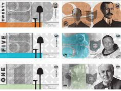 Currency Redesign by Ryan Smith, via Behance