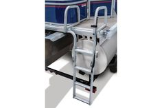 Longer Ladder for easier access to get in and out of the pontoon