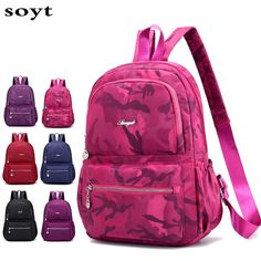 f7fe978ded03 Hot Sale 2018 High Quality Men s Backpacks Waterproof Nylon Backpack Female shoulder  Travel bags. Yesterday s