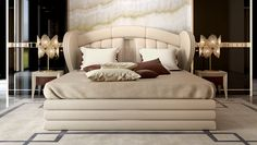 Orion Bedroom www.turri.it Italian luxury bed