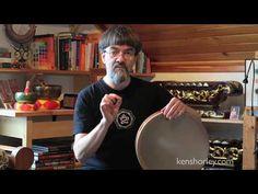 (193) Ken Shorley - Frame Drum Lesson (Finger Rolls) - YouTube Ocean Drum, Frame Drum, Drum Lessons, Finger, Rolls, Youtube, Fingers, Buns