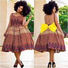 I guarantee that you will book an appointment with your Tailor when you see these 30 Ankara inspired dresses - Tomi's Colour Pavilion Ankara Dress Styles, Kente Styles, African Print Dresses, African Wear, African Fashion Dresses, African Dress, African Clothes, African Prints, African Style