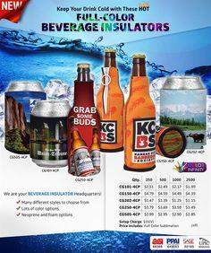 Full Color Beverage Insulators