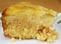 Tasty gluten free apple cake. Made with fresh apples, this deliciously moist gluten free sponge cake full of apple flavour is great as a cake treat or as a dessert.