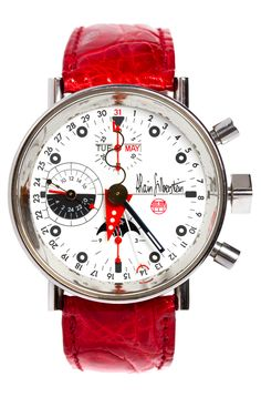 ALAIN SILBERSTEIN has made a horrifying watch. Perfection requires this much risk. Dream Watches, Fine Watches, Luxury Watches, Cool Watches, Watches For Men, Alain Silberstein, Beautiful Watches, Luxury Branding, Mens Fashion