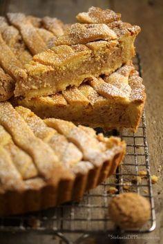 Cosa ti serve per uno stampo Ø da crostata di cm. 24 di diametro Per la pasta frolla 500 gr. di farina 00 250 gr. di burro ...
