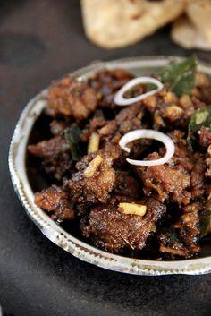 Nadan Erachi Ularthiyathu / Kerala Meat Fry