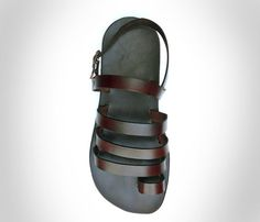 Leather Hand made Sandals for Men and Women-Color by LeatherD