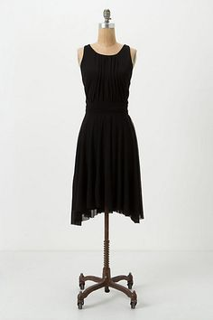 Perfect little black dress. The back is what makes this dress perfect.