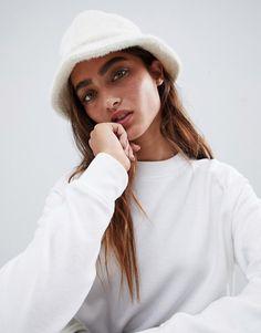 d157b46a9224f Sherpa + Suede Bucket Hat in 2019
