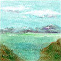 Rebelle watercolor painting