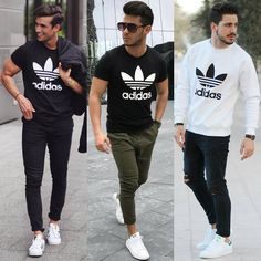 """3,906 Likes, 106 Comments - Mensfashion / Mensstyle (@mensstyle.co) on Instagram: """"Adidas! Pick one & comment below!  Double tap if you'd wear one outfit! Follow @mensstyle.co for…"""""""