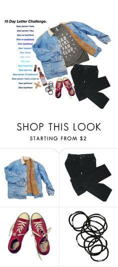 """""""dear ex best friend"""" by perrfectionist ❤ liked on Polyvore featuring Marc by Marc Jacobs, A2 by Aerosoles, Converse and Monki"""