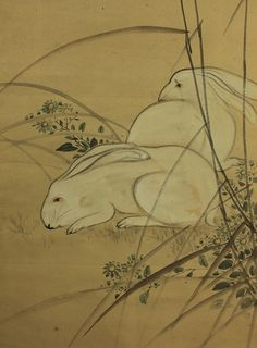 Just in time for Easter :-)).love the sweet and delicate style. White Rabbits, Delicate, Creatures, Easter, Japanese, Sweet, Vintage, Style, White Bunnies