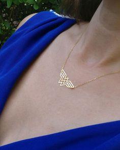 Wonder Woman necklace, superman necklace, superwoman necklace, wonder woman jewelry