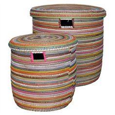 Store Afrikanske kurve i multicolor. Sæt m 2.http://www.boxdelux.dk/shop/store-afrikanske-kurve-13458p.html
