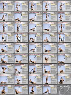Vibefit.ca- Whole Body Vibration Exercise Chart