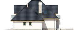 Projekt domu Amira G1 153,04 m2 - koszt budowy - EXTRADOM Modern Bungalow Exterior, Villa, Building, Outdoor Decor, House, Type, Garden, Home Decor, Architecture