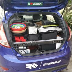 What's the most surprising thing you've fit in the back of your Fiesta? #FiestaMovement pic.twitter.com/AQpDA20Tob