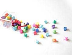 Paper Octahedron Origami Tutorial