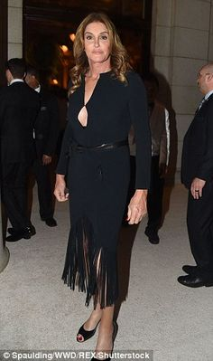 Caitlyn Jenner arrives at Trump's inauguration eve    Daily Mail Online