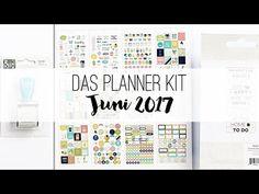 danipeuss.de Planner Kit | Juni 2017