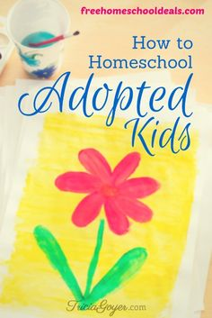 This post is from contributor, Tricia Goyer. When John and I planned on adopting children, I knew that I wanted to homeschool them. I homeschooled our oldest three from preschool through high school and it was a wonderful experience. Yet homeschooling my adopted kids didn't happen as easy (or as qui...
