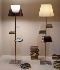 lamp / books
